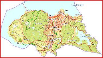 Trondheim - kart