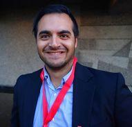 Saman AL-Dehesi, leder av Ungdomsutvalget i LO i Trondheim